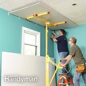 How To Remove Ceiling Drywall by Why Remove Popcorn Ceiling When You Can Cover It With