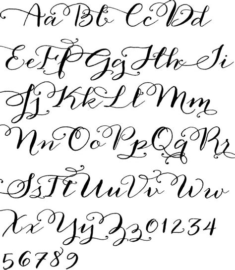 easy printable fonts anna clara calligraphy font printables lettering