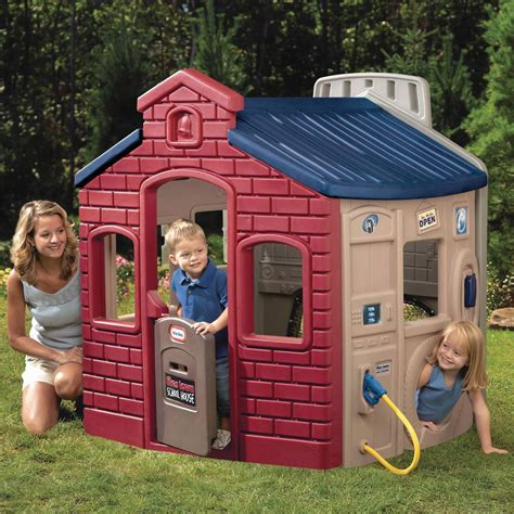 tikes house tikes town house playhouse new wendy house earth