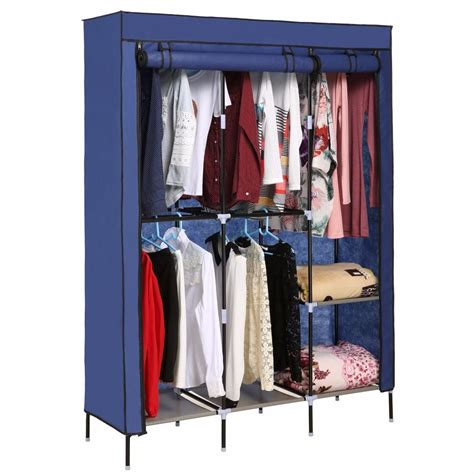 hanging cabinet for clothes nonwoven wardrobes portable simple closet dustproof