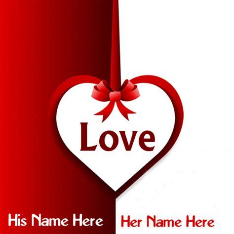 write  couple   beautiful love heart greeting cards image