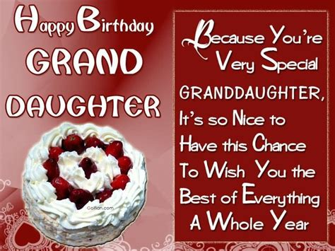 Wishing You Happy Birthday 65 Popular Birthday Wishes For Granddaughter Beautiful