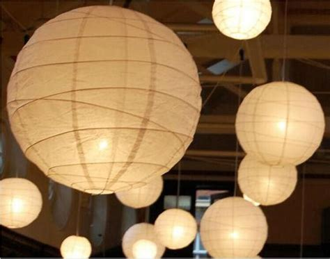 Paper Lantern White 2015 new white paper lanterns with led lights