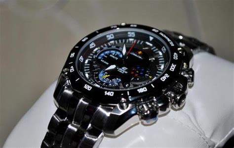 Edifice 535 Fullblack s watches casio edifice bull racing ef 550rbsp 1avdf 5147 was sold for r1 551 00