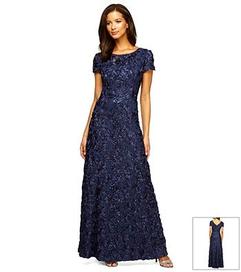 Bridesmaid Dresses Boston Store - alex evenings 174 rosette gown boston store of the