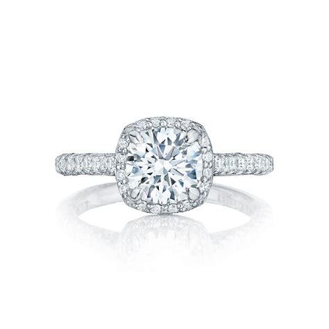 tacori engagement rings crescent setting 0 75ctw