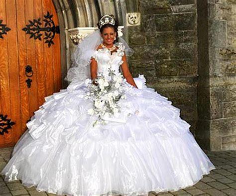 real gypsy wedding dresses big fat gypsy wedding irish christmas special spoilers