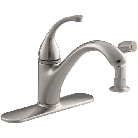 vantage collection single handle kitchen faucet with ultra faucets vantage collection 2 handle standard kitchen