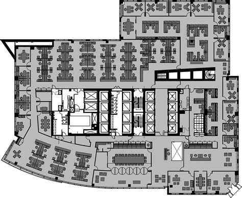 modern office floor plans portfolio cion platt
