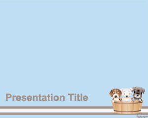 pet powerpoint template