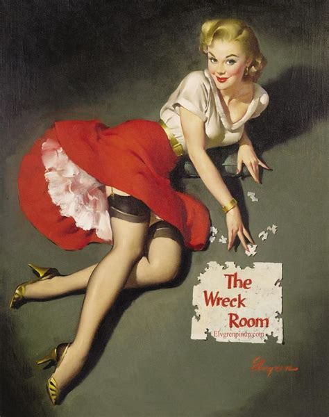 pin up gil elvgren quot the norman rockwell of cheesecake quot vintage