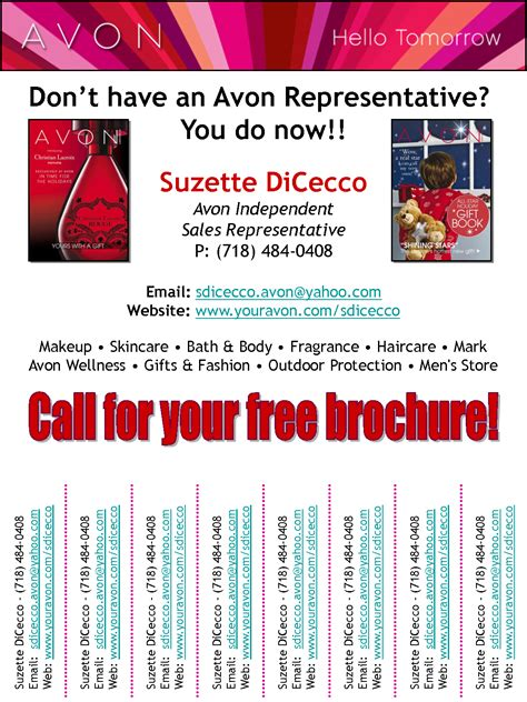 Avon Flyer Template avon fair images photos scope of work template must