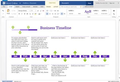 how to make a timeline template microsoft word business project timeline template for word