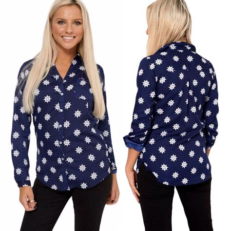 Blouse Next 1 new next blouse womens blue shirt nautical casual top uk 12 18