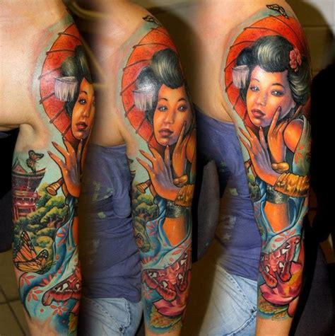 tattoo de geisha en el brazo tatuajes de geishas en el brazo geisha tattoo