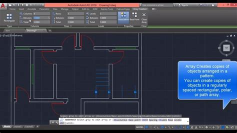 tutorial autocad step by step autocad 2018 floor plan drawing 2d basic tutorial step by