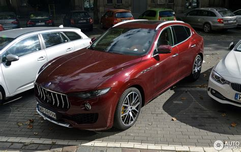 levante maserati black maserati levante s 4 september 2016 autogespot