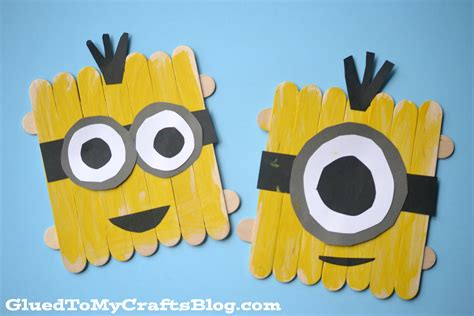 Turtle Decorations For Home by Popsicle Stick Minions Kid Craft