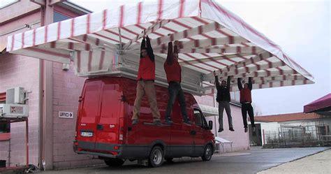 tende per furgoni ambulanti tende da mercato per ambulanti di gaggio srl