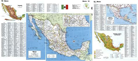mexico detailed map detailed map of mexico cities images
