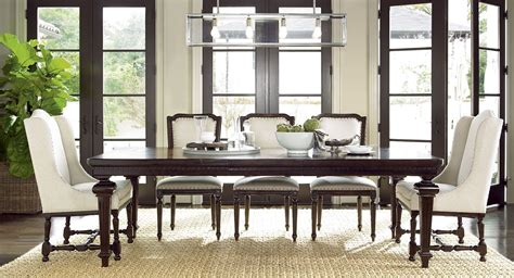 proximity rectangular extendable dining room set from