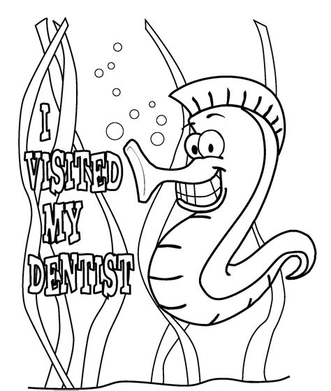 free dental coloring pages bestofcoloring com