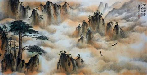 Many classical chinese master pieces are based on the beauty fo