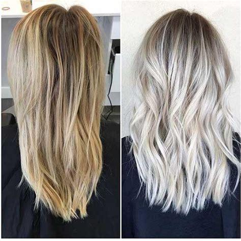 blending short layered crown with cold f usion 31 cabelos com luzes platinadas veja fotos e aprenda