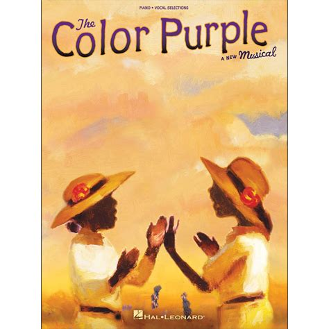 the color purple book price hal leonard the color purple a new musical arranged for