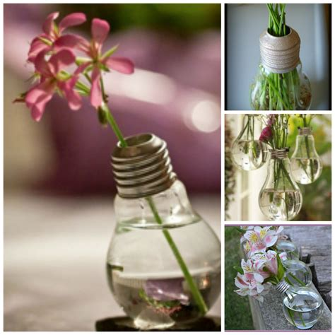 tutorial how to recycle old light bulbs