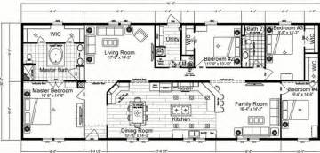 Double Wide Floor Plans 4 Bedroom Mobile Home Plans Bedroom Double Wide Mobile