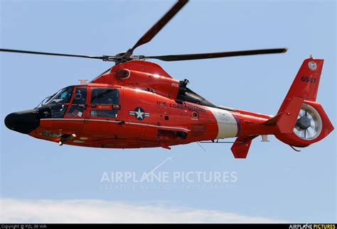 New Garden Flying Field by 6587 Usa Coast Guard Aerospatiale Mh 65c Dolphin At