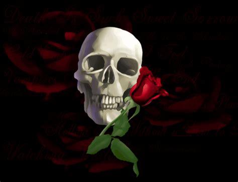 imagenes de calaveras con frases de amor la calavera coronada de rosas la exuberancia de hades