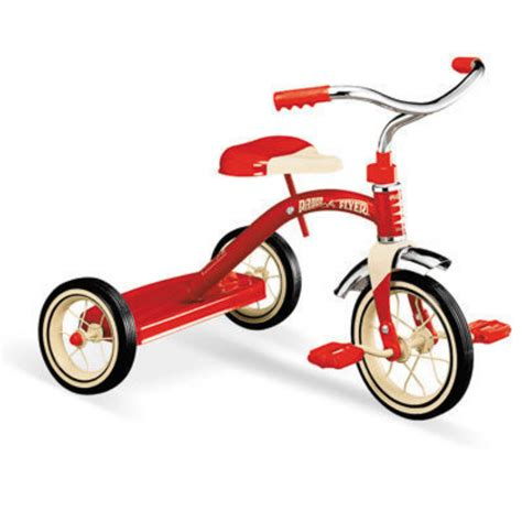 radio flyer   red classic tricycle  radio flyer