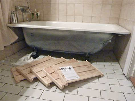 making a bathtub make a bath tub front panel from ikea 180 s gorm a 8 step