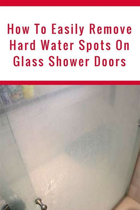 How To Clean Glass Shower Doors With Hard Water Stains How To Clean Glass Shower Doors With Water Stains