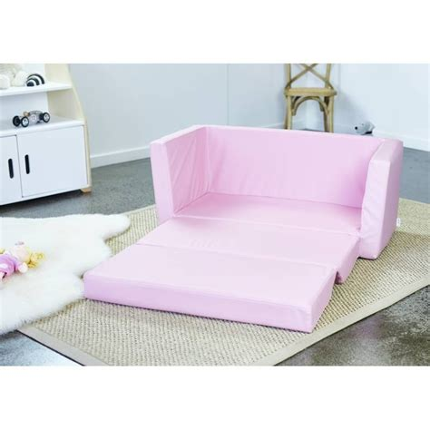 kids flip out sofa bed marshmallow furniture children s 2