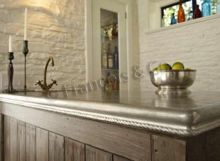 pewter countertops add a beautiful patina to your kitchen