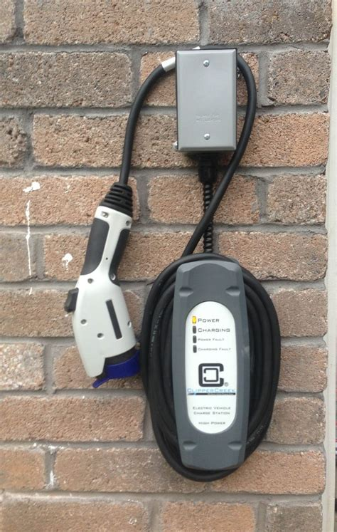 Home Charging Station Residential Charging Station Electric Cars Pinterest
