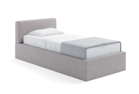 letto singolo imbottito con contenitore letto singolo con box contenitore quadro clever it