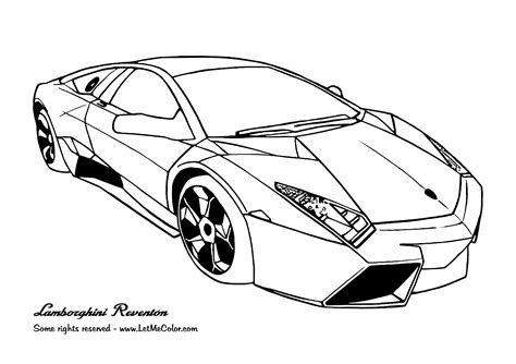 Coloring Page Of Cars cars coloring pages free large images