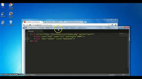 tutorial php curl php curl tutorial part 2 download files using curl youtube