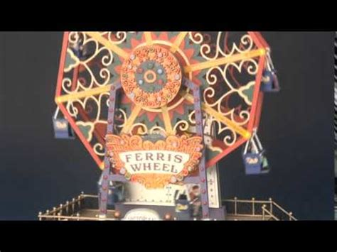 the starburst ferris wheel lemax the starburst doovi