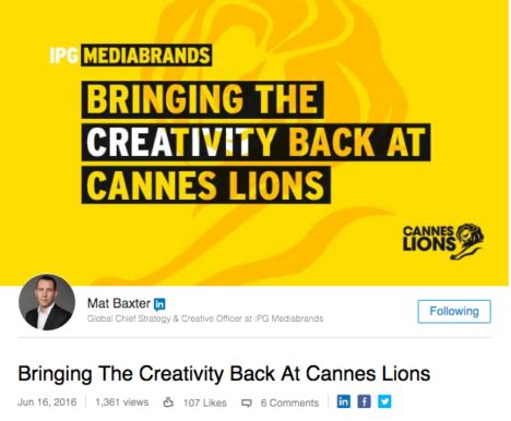 cannes lions has 'lost its way' and become a 'never ending