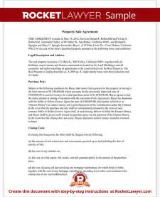 contract for sale of land template property sale agreement property sale contract form