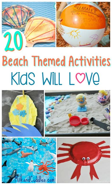 summer themed games 20 beach themed activities that kids will love perfect