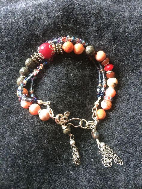 Tasseled Layered Bracelet 15 best tendrilsandlace handcrafted bracelets images on