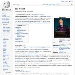 ted nelson pearltrees