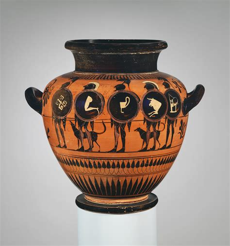 Athenian Vase Painting by Italia Etruscos On Terracotta Painted