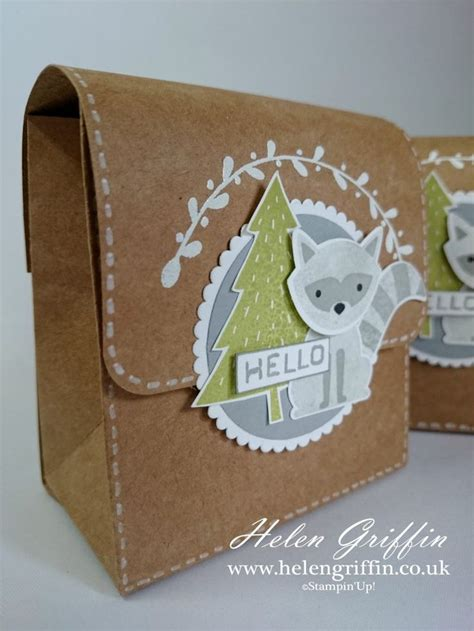 Paper Bag Crafts For Adults - 25 best gift bag punch board ideas on